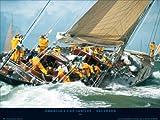 Kos–America' s Cup Jubilee, Vels Heda–dimensioni 80x 60cm stampata + accessori