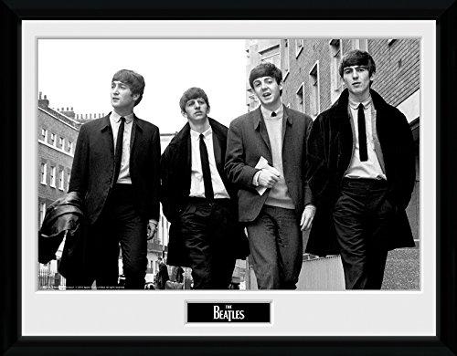 GB Eye Gerahmtes Foto The Beatles in London, 40,5x30,5cm (London Eye-bild)