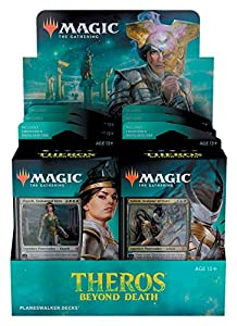 Magic The Gathering Theros Beyond Death Planeswalker Deck Display de 6 (Wizards of The Coast MTG-THB-PD-EN)