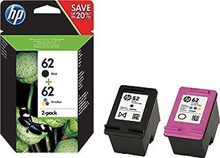 HP N9J71AE 62 Cartucho de Tinta Original, 2 unidades, negro y tricolor (cian, magenta, amarillo) (B01ARRTHUE) | Amazon price tracker / tracking, Amazon price history charts, Amazon price watches, Amazon price drop alerts