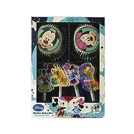 Dekoback 01–14–00731Muffin Set Mickey Mouse, 48Pezzi