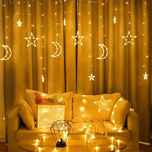 YERTYY Schnur-Lichter dekorative Leuchten Energieeinsparung mit hohen Helligkeit für Weihnachten Hochzeit Geburtstag Indoor Outdoor Nutzung warm White