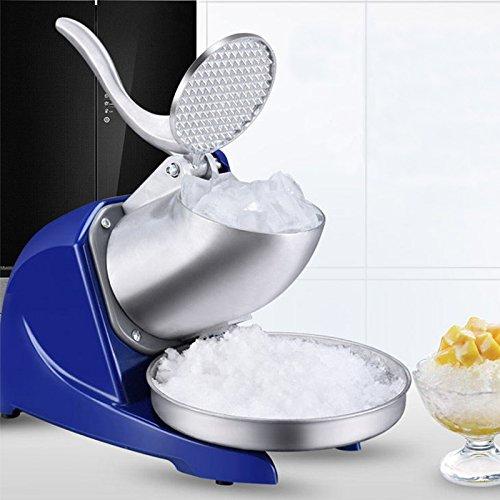 Eis-Mixer, Eis-Crusher, Edelstahl, elektrisch, 3rasierte-Tassen, 220V
