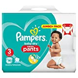Pampers Baby Dry Pants taille 3 couches, avec des canaux Air de sauna