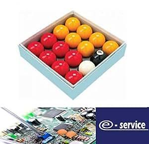 "Rot und Gelb 2"" Snookerkugeln (1 7/8 Zoll Cue Ball)"