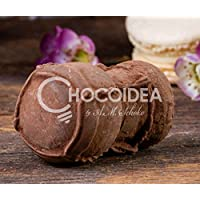 Choco Corcho de Champán/Choco Champagne Cork 100% artesanal, hecha a mano con chocolate fino belga Barry Callebaut.