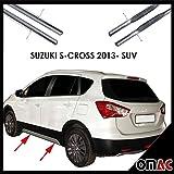 Trittbretter Seitenschweller ø70mm V2A Edelstahl für SUZUKI S-CROSS 2013- SUV