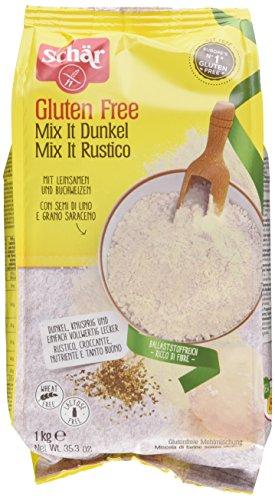 Schär Brot Mix Dunkel, 10er Pack (10 x 1 kg)