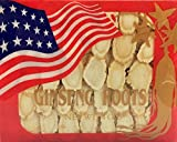 New Green Nutrition Hand-Selected A Grade American Ginseng Slice Medium Size (4 Oz. Box) by New Green Nutrition