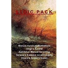 Stoic Pack: Marcus Aurelius' Meditations, Virgil's Aeneid, Epictetus' Manual for Living, Seneca's 8 essays on philosophy, and Cicero's Scipio's Dream (English Edition)
