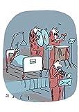 Postkarte A6 • 4949 ''Triangel'' von Inkognito • Künstler: Beck • Satire • Cartoons