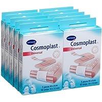 Cosmoplast 540768 Universal Kombipackung 10 Packungen mit je 5 Wundpflastern und je 10 Strips preisvergleich bei billige-tabletten.eu