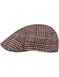 Stetson Coppola Texas Classic Check Cappello Piatto Invernale Cappellino in  Lana 13d374966f24