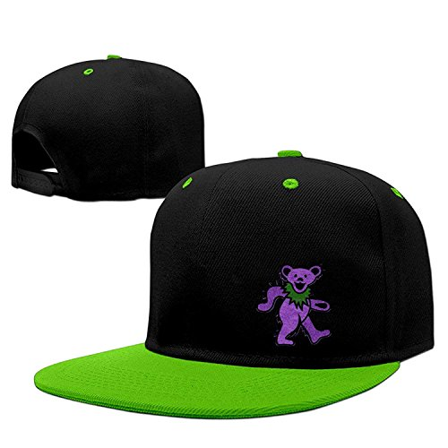 7b66412e9 Bestseller Unisex Custom Grateful Dead Dancing Bear Hip Hop Snapback Adjustable  Baseball Caps/Hats