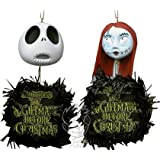 Pesadilla Antes de Navidad Jack & Sally (Wreath Ornaments) Neca
