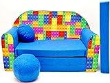C32 Kindersofa Ausklappbar Schlafsofa Couch Sofa Minicouch 3 in 1