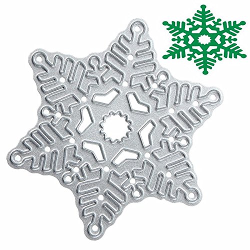 JCHUNL Metall Schneeflocke Weihnachten Stanzformen DIY Scrapbook Album Papier Karte Dekor Werkzeug New Hot - Weihnachten Scrapbook-papier