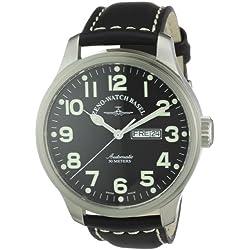 Zeno Watch Basel Herrenarmbanduhr Pilot Oversized 8554DD-a1