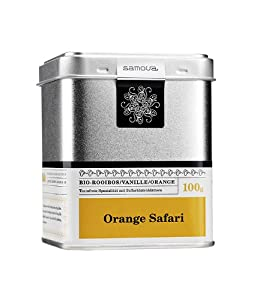 Samova Orange Safari – Rooibos bio, 1er Pack (1 x 100 g)