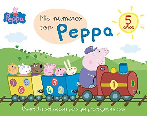 Mis números con Peppa - 5 años (Aprendo con Peppa Pig) por Varios autores