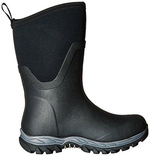 Muck Boots Arctic Sport II Mid, Bottes et Bottines de Pluie Femme Noir (Black/black)