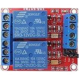 Demiawaking 12V 2-Kanal Relaismodul Optokoppler H / L Level Triger für Arduino Raspber