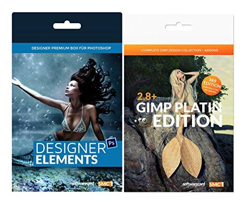 Gimp 2.8 Platinum Edition. Inklusive Designer Ultimate Vorlagen und Grafikpaket. Machen Sie mehr aus Ihrem Gimp. Jetzt mit dem größten SMC Grafik-Paket. Softwarecard Platinum Edition. (Grafik Firma)