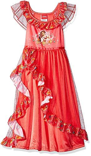Disney Princesa Fantasy Nightgowns, Elena Red, 6