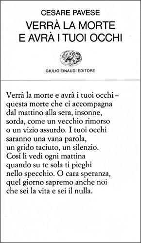 verra-la-morte-e-avra-i-tuoi-occhi-collezione-di-poesia-vol-31-italian-edition