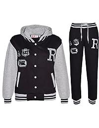 678fdbef65 A2Z 4 Kids® Enfants Filles Garçons Baseball Survêtement NYC Fox Veste &  Pantalons des Sports
