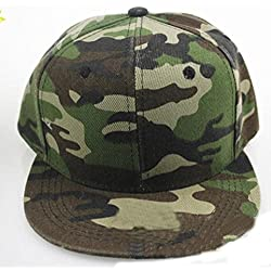 Sombrero,Xinantime Hombres Mujeres Camuflaje Gorra de Béisbol Hip Hop Gorra (Verde)