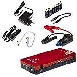 Einhell Auto-Starthilfe - CC-JS 12 (3 x 3700 mAh, Energiestation, Jump Starter, mobile Stromversorgung, LiPo-Akku, Ladezustandsanzeige, Starthilfeeinrichtung, inkl. Tasche)