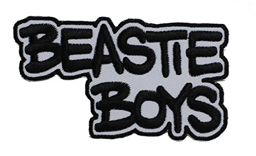 BEASTIE BOYS Logo, Officially Licensed Products, Premium Quality Iron-On / Sew-On, 3.9