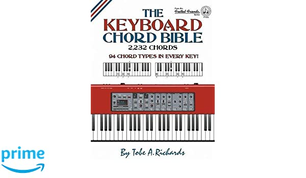 The Keyboard Chord Bible 2232 Chords Fretted Friends Amazonde
