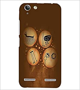 PrintDhaba Funny Image D-3961 Back Case Cover for LENOVO VIBE K5 PLUS (Multi-Coloured)