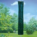 Wäschespinne Abdeckung Wäscheleine Schutzhülle Wäscheständer 130 gsm Poly grün
