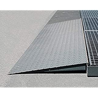 ASECOS Auffahrrampe St. für Bodenelemente Stahl, 1320x720 f Breite 1400