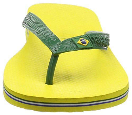 Havaianas Brasil 4000032, Infradito Unisex – Adulto Giallo (Citrus Yellow 2197)