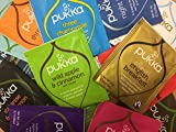 Pukka Herbal Organic Tea Sachets - Selection of 37 + 3 (Total 40) Sachets (1 Sachet of Each Variety) - Sample Taster Pack