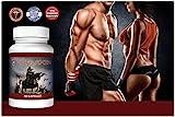 Horlaxen - 400% gesteigerte Körperkraft, mehr Muskeln, erhöhte Ausdauer. | Starke, rein natürliche Formel für mehr Kraft, Stärke und für schnelles Muskelwachstum. | Ideale Unterstützung für das Training, das beste für effektiven Muskelaufbau.| Sichtbare Ergebnisse in kurzer Zeit. -