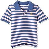 #5: GAP Baby Boys' Plain Regular Fit Polo (26558095802_Pure Pink_18-24M)
