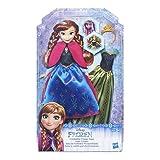 Disney Frozen - Muñeca Anna Cambio de Vestido (Hasbro B5171ES0)