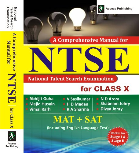 A Comprehensive Manual for NTSE for Class X (Old Edition)