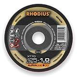 RHODIUS Trennscheibe XT 70 125x1,0x22,23mm Edelstahl Alpha 207437