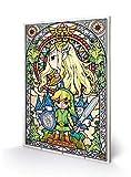 Nintendo Drucken, Holz, Mehrfarbig, 40 x 59cm