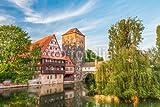 druck-shop24 Wunschmotiv: Nürnberg Weinstadel und Wasserturm II #83774205 - Bild hinter Acrylglas - 3:2-60 x 40 cm/40 x 60 cm