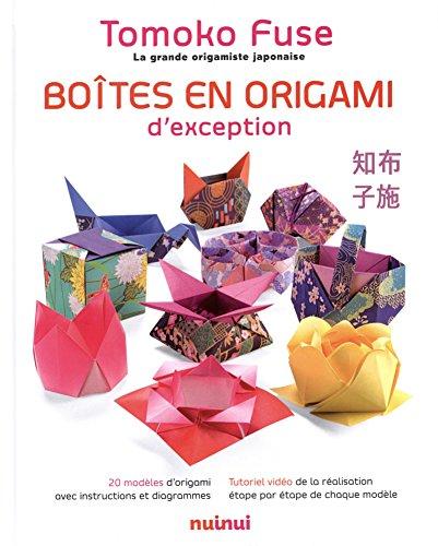 Boîtes en origami d'exception par Tomoko Fuse