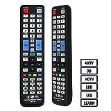 Grock Universal-Fernbedienung vsm-19 Kompatibler Ersatz für SAMSUNG TV/HDTV/3D/LCD/LED, geltenden BN59–01178 W BN59–00997 A BN59–00996 A BN59–01199 F AA59–00594 A BN59–01179 A AA59–00666