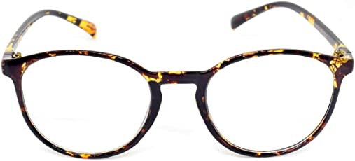 Round Spectacle Frame For Girls|Women.Leopard Print Frame.
