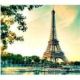 ClassicJP Puzzle Puzzle 1000 Pezzi Torre Eiffel per Regalo di Famiglia per Adulti